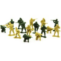 Sada vojáci 2 barvy plast CZ design