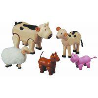 Plan Toys Sada zvířátek z farmy