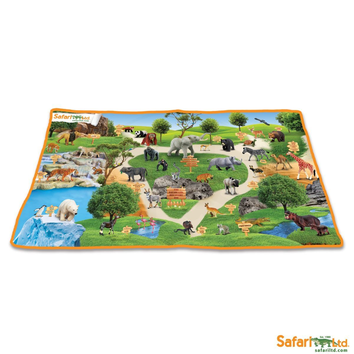 Safari Ltd Koberec Divočina