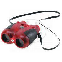 Safari Ltd Červený dalekohled se světlem a kompasem