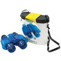 Safari Ltd Modrý průsvitný dalekohled v krabičce
