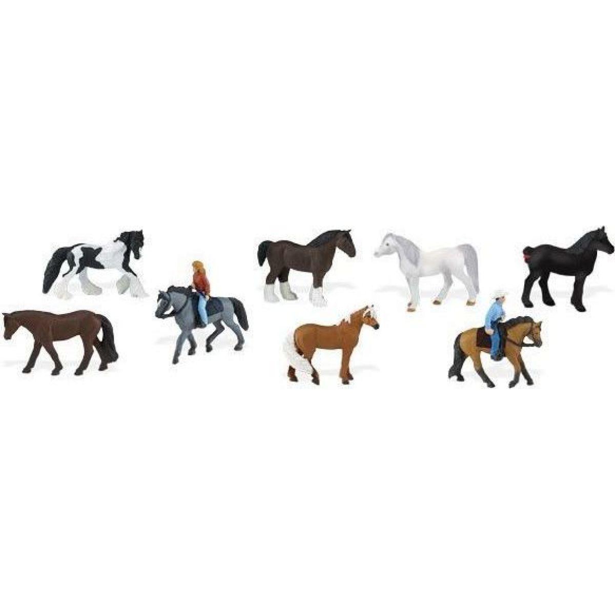 Safari Ltd Tuba koně a jejich jezdci