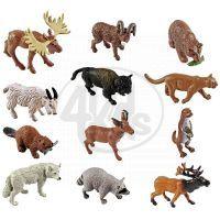 Safari Ltd Tuba Zvířata Severní Ameriky