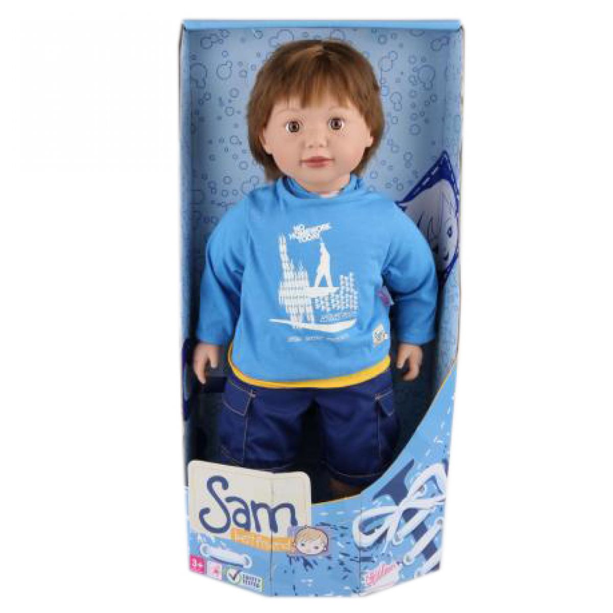 Zapf Creation 876039 - Chlapeček Sam (63 cm)