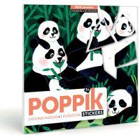 Poppik Samolepkové puzzle Divoká zvířata