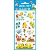 Anděl Samolepky na vajíčka gelové tradiční motivy 19 x 9 cm obrázek 3