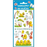 Anděl Samolepky na vajíčka gelové tradiční motivy 19 x 9 cm obrázek 4