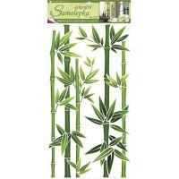 Anděl Samolepky na zeď Bambus zelený 60 x 32 cm