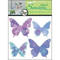 Anděl Samolepky na zeď Motýli se vzorem 30,5 x 30,5 cm