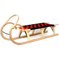 Praděd Sáně dřevěné 110 cm lakované