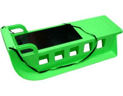 Plastkon Sáně plastové Kamzík - Zelená