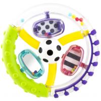Sassy Chrastítko kroužek s míčkem