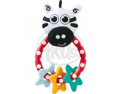 Sassy Chrastítko zebra