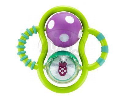 Sassy Svítící kousátko - Fialový míček
