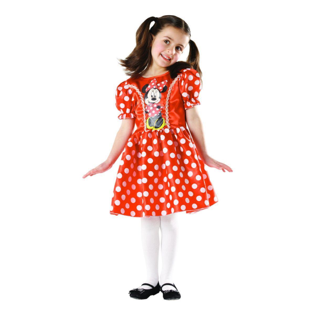 Rubie's Kostým Minnie Mouse Classic červená velikost S