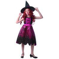 Made Šaty na karneval Čarodejnica 110 - 120 cm