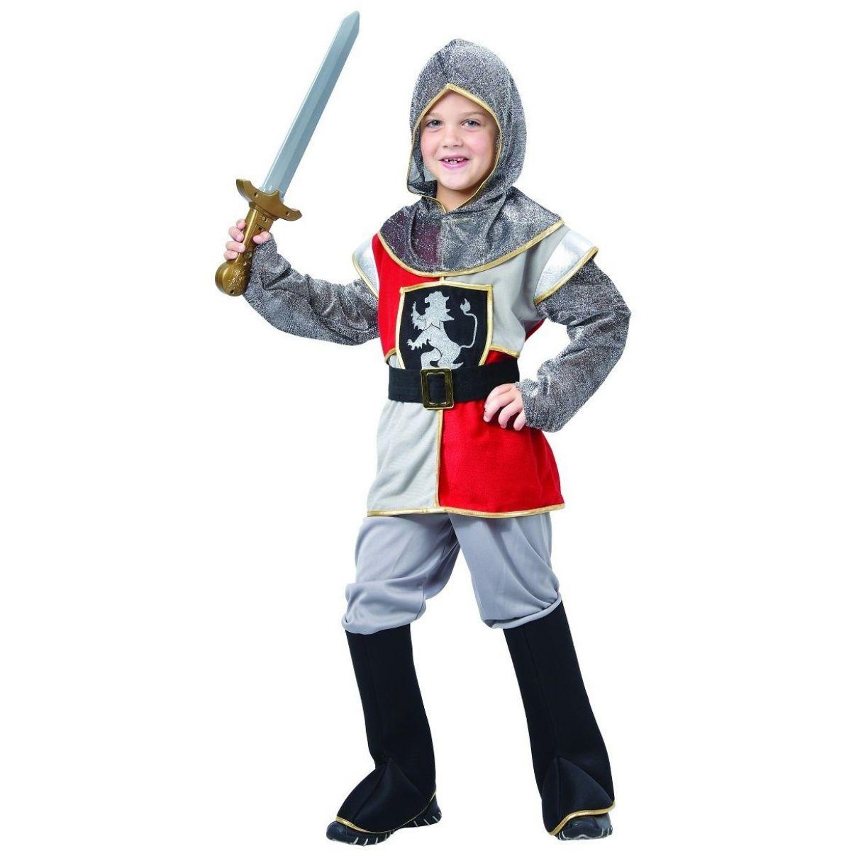 Šaty na karneval rytier 120 - 130 cm