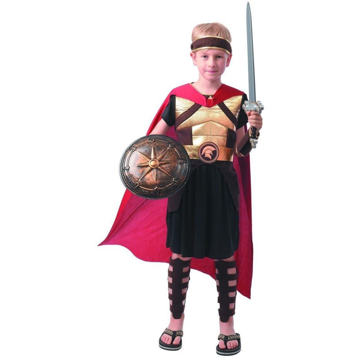 Šaty na karneval gladiátor 110 - 120 cm