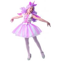 Šaty na karneval jednorožec 110 - 120 cm