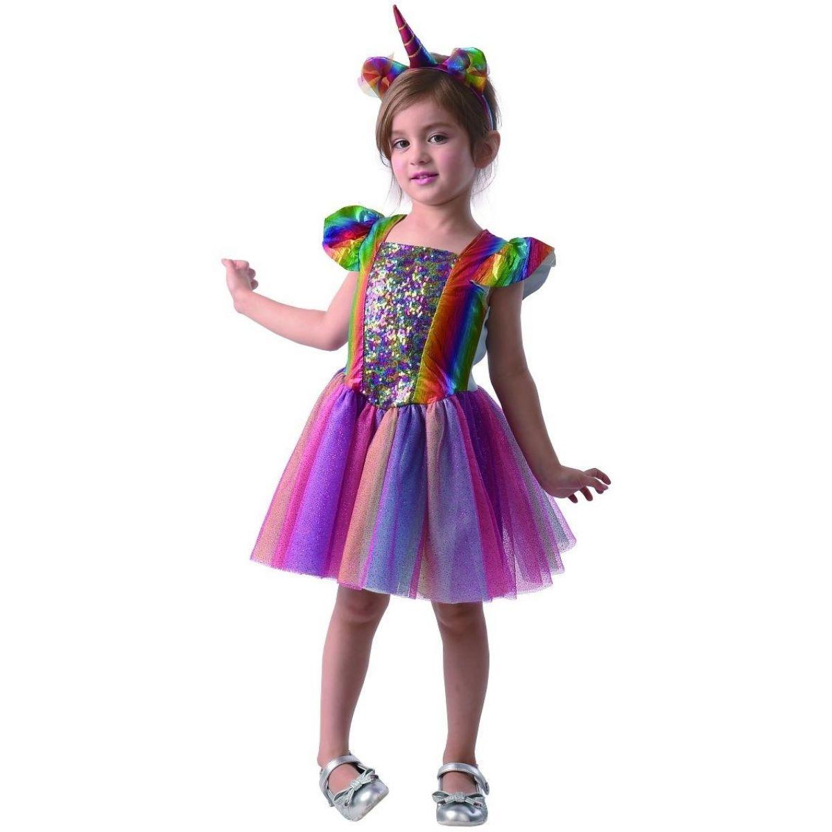 Šaty na karneval jednorožec 80 92 cm