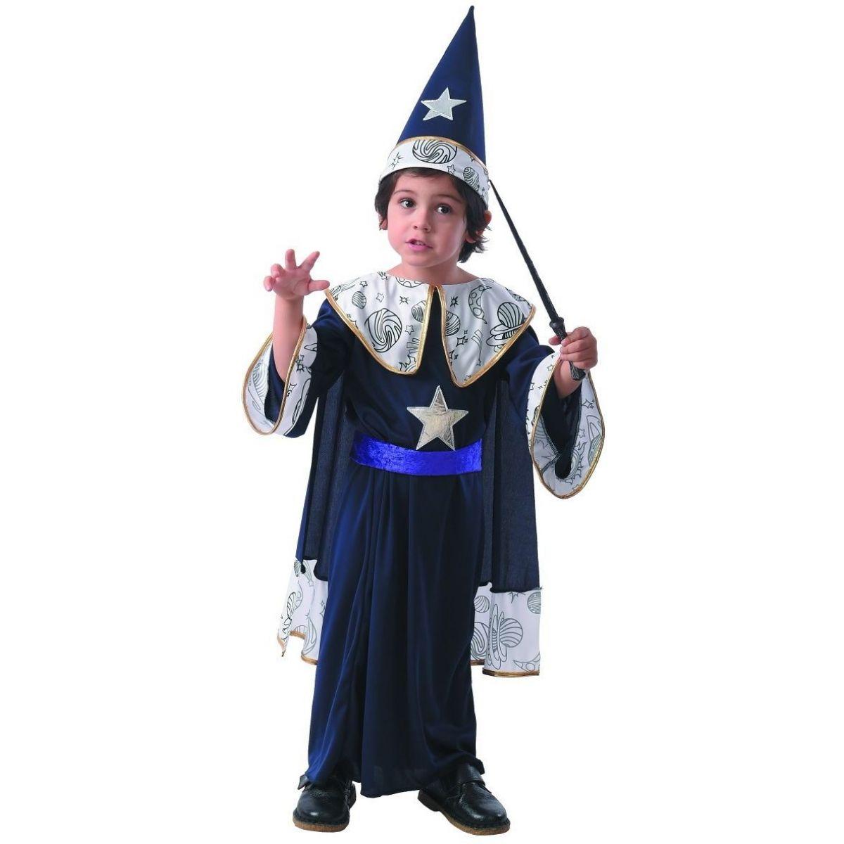 Šaty na karneval kúzelníčka 92 - 104 cm