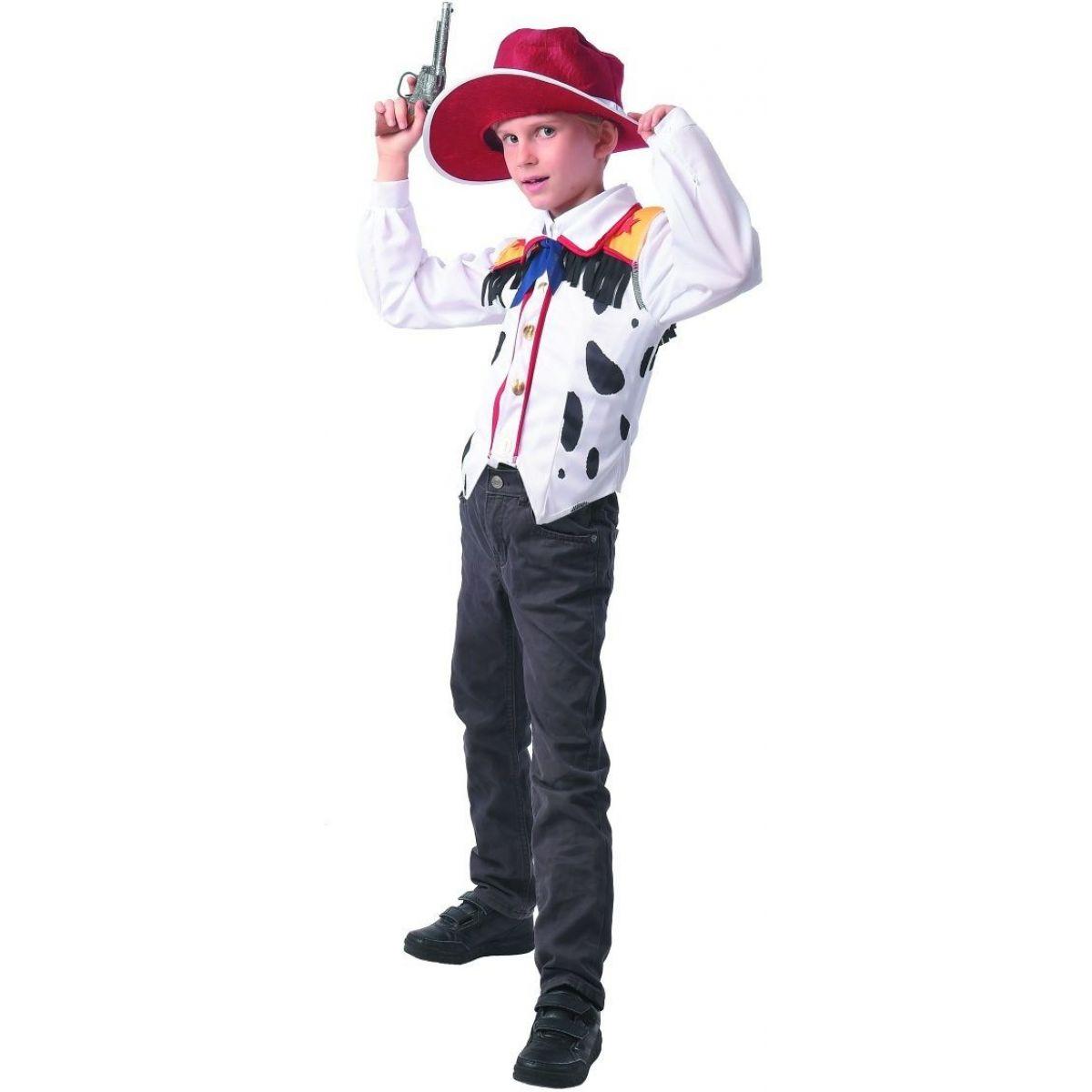 Šaty na karneval kovboj 110 - 120 cm