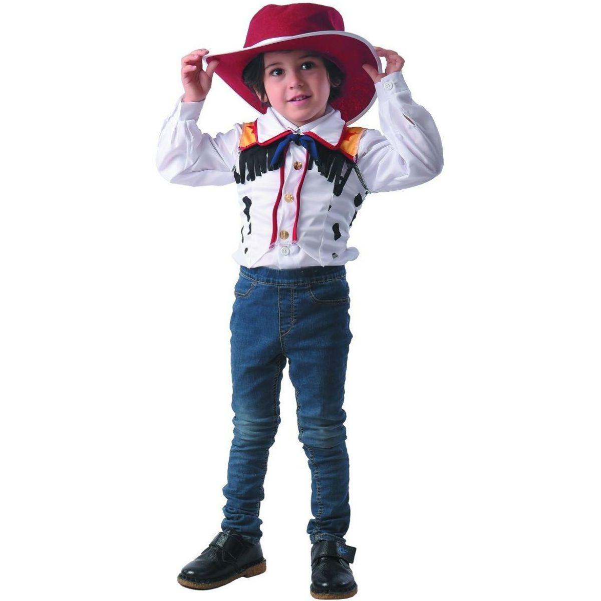 Šaty na karneval kovboj 80 - 92 cm