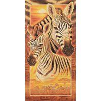 Schipper Hochformat Afrika zebry 40 x 80 cm 2