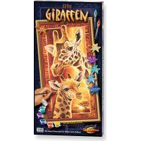 Schipper Hochformat Afrika žirafy 40 x 80 cm