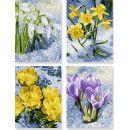 Schipper Quattro Jarní květiny 18 x 24 cm 2