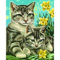 Schipper Classics Kočka s kotětem 24 x 30 cm 2