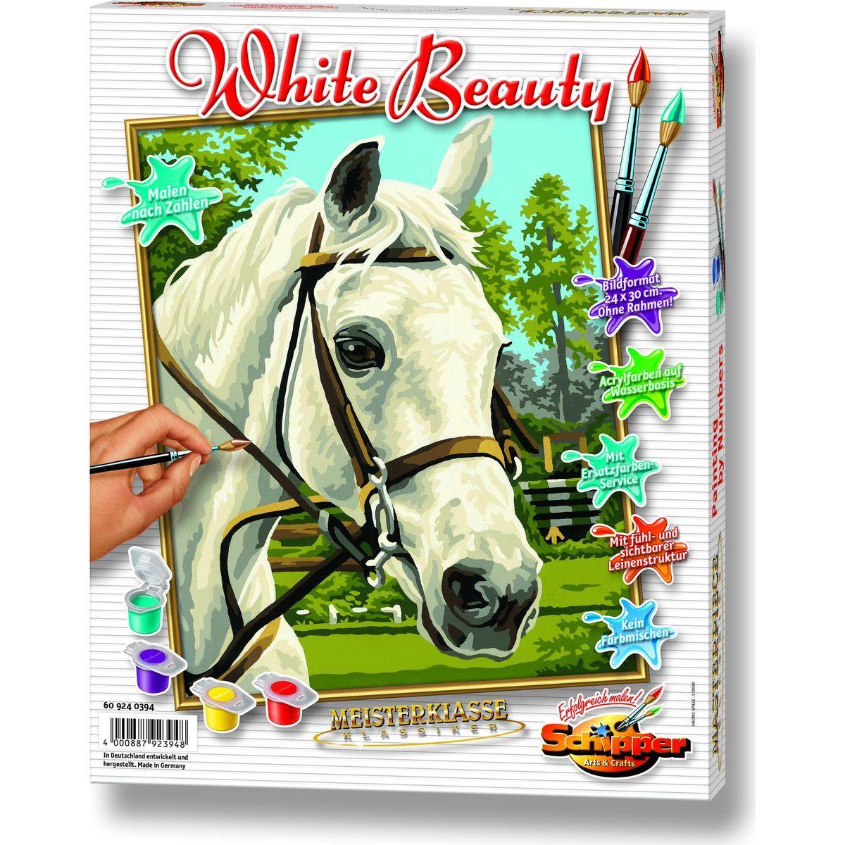 Schipper Classics Kůň bílý 24 x 30 cm