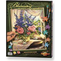 Schipper Premium Květiny u okna 40 x 50 cm