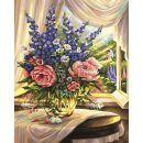 Schipper Premium Květiny u okna 40 x 50 cm 2
