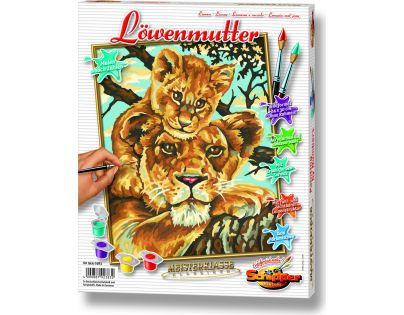 Schipper Classics Lvice a lvíče 24 x 30 cm