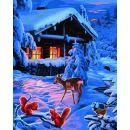 Schipper Premium Romantická zimní noc 40 x 50 cm 2