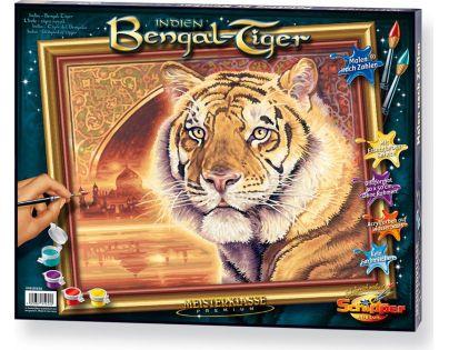 Schipper Premium Tygr bengálský 40 x 50 cm