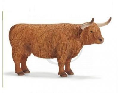 Schleich 13659 - Zvířátko - skotská náhorní kráva