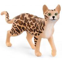 Schleich Zvířátko kočka bengálská