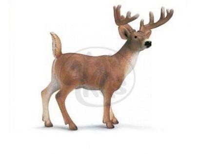 Schleich 14253 - Zvířátko - jelenec běloocasý