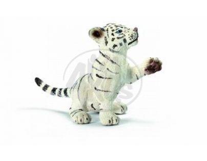 Schleich 14385 - Zvířátko - bílý tygřík hrající si