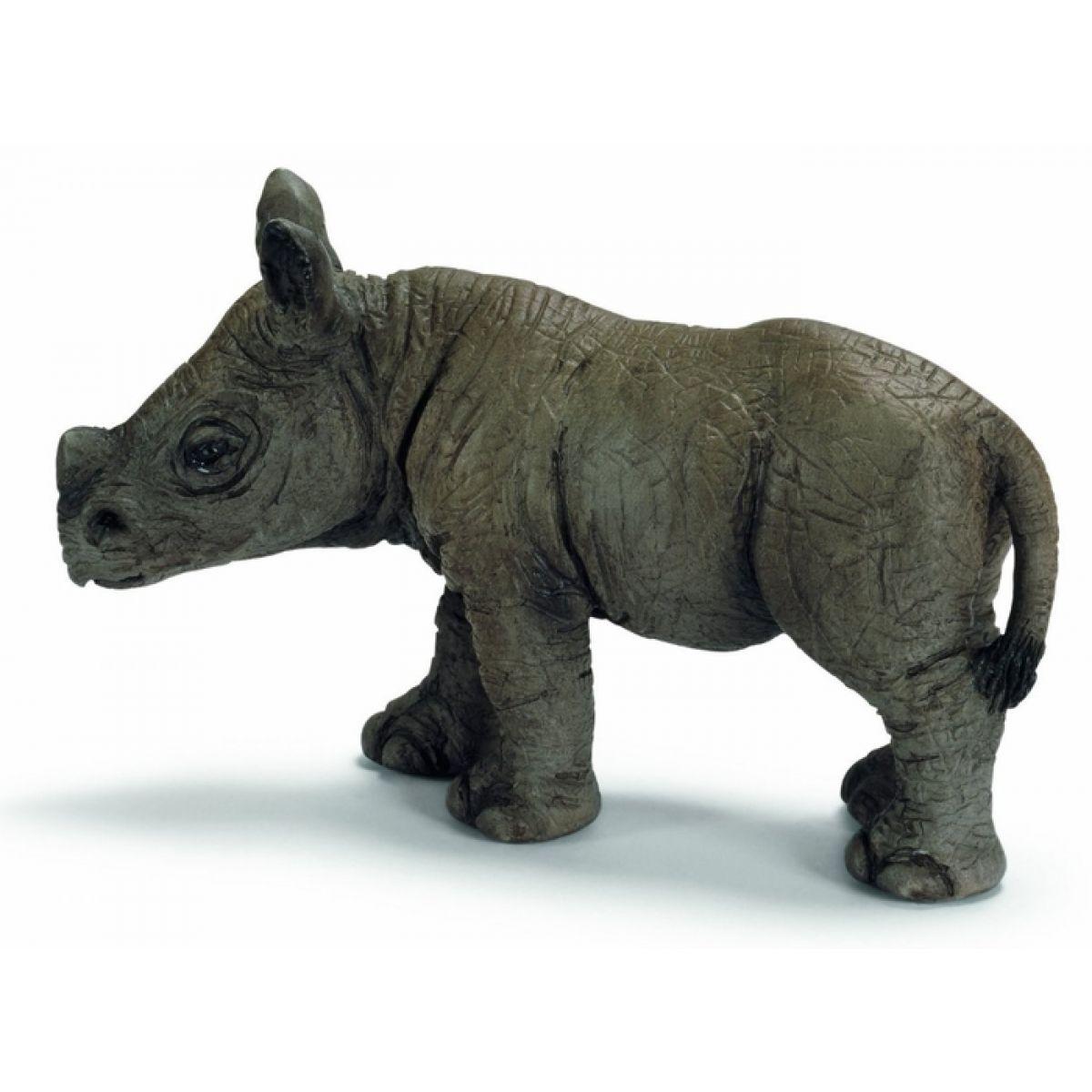 Schleich 14395 - Zvířátko - nosorožec dvourohý, mládě