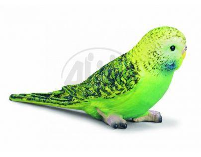 Schleich 14408 - Zvířátko - andulka zelená