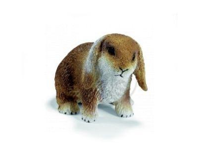 Schleich 14415 - Zvířátko - trpasličí králík se svislýma ušima