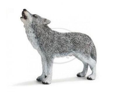 Schleich 14626 - Zvířátko - vlk, vyjící