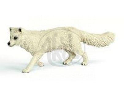 Schleich 14638 - Zvířátko - liška polární