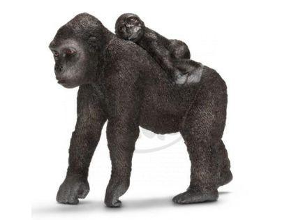 Schleich Gorila samice s mládětem