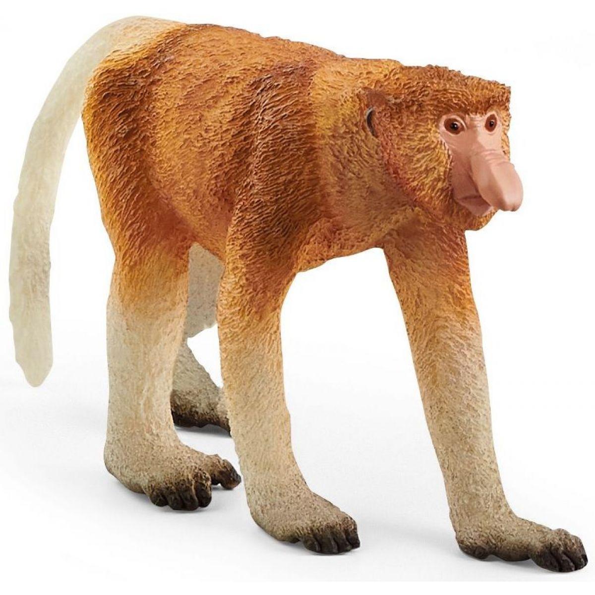 Schleich Zvieratko opica Kahau nosatá