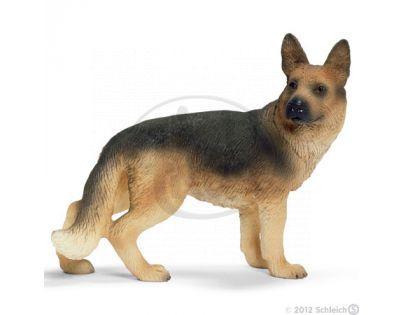 Schleich 16375 - Zvířátko - německý ovčák pes
