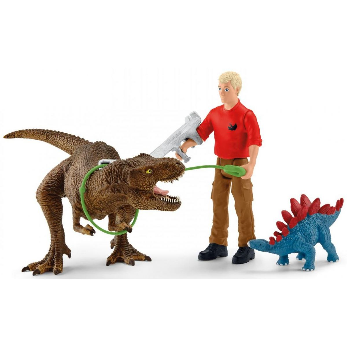 Schleich 41465 Útok Tyranosaura Rexa